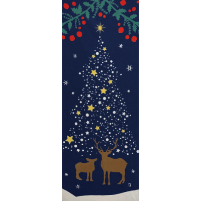 手ぬぐい「クリスマスツリー」