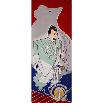 手ぬぐい「伽羅先代萩」