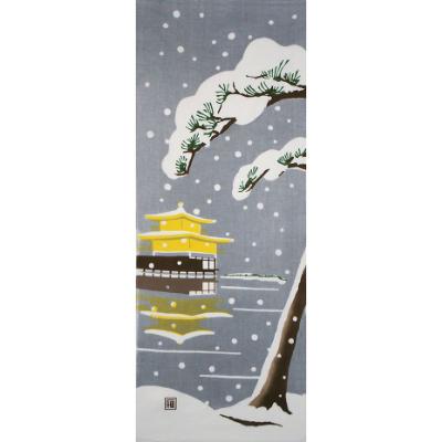 手ぬぐい「日本の冬」