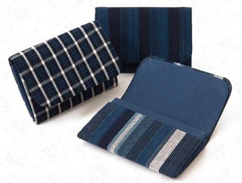 松阪木綿の名刺ケース