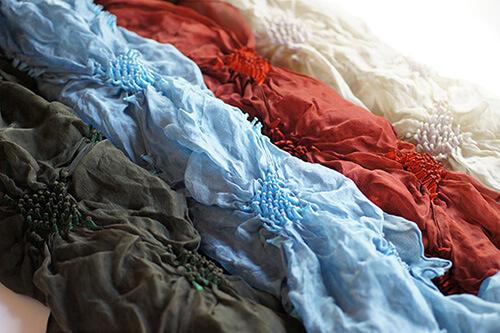 片山文三郎商店のスカーフ