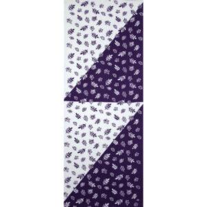 手ぬぐい「葉っぱ(紫)」