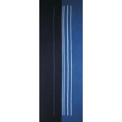手ぬぐい「藍染め4 細竹」