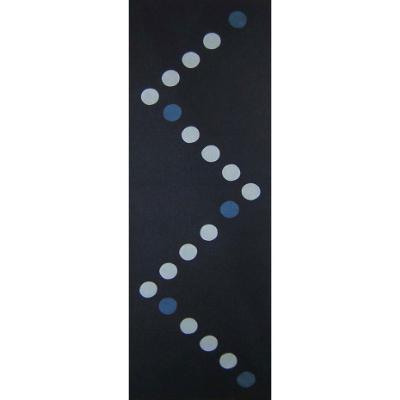 手ぬぐい「藍染め6 丸つなぎ」