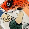 手ぬぐい「鯛を抱く恵比寿さま」お年賀