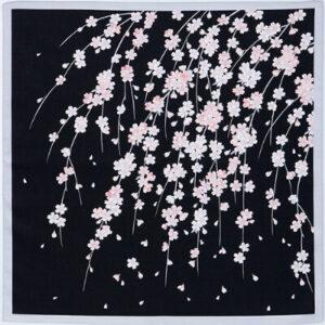 シャンタンチーフ「しだれ桜」