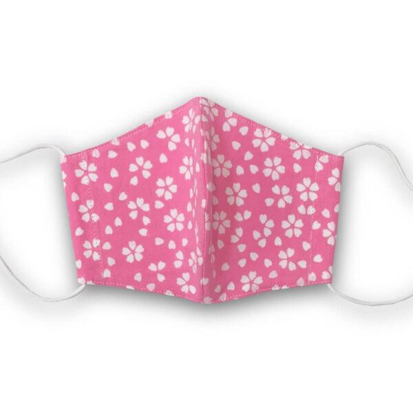 手ぬぐいマスク「桜(ピンク)」
