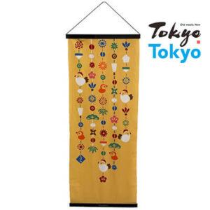 Tokyo Tokyo選定「アートフレームと絵てぬぐい」釣り飾り