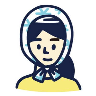 手ぬぐい防災「防災頭巾」